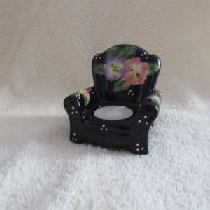 Other - 3/$15 Chair shaped candle holder NWOT - Cute gift!